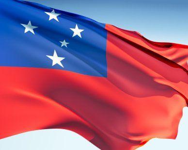 Western Samoa Flags