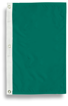 Nylon Solid Color Tall Flags