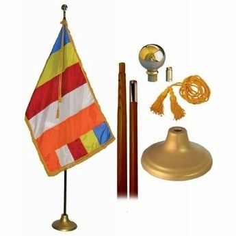 Indoor Buddhist Flag Sets