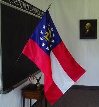 Georgia State Classroom Flags