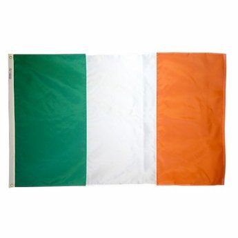 Heavyweight Nylon Ireland Flags
