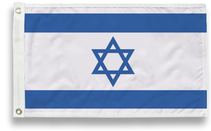 Outdoor Israel Flags