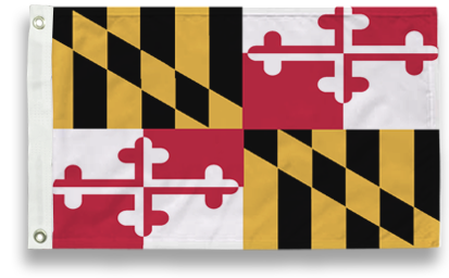 State-Tex Commercial Grade Maryland State Flags