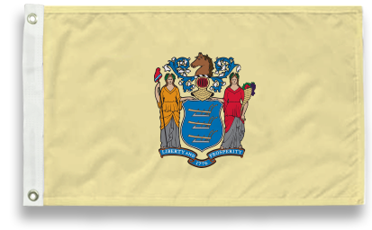 State-Tex Commercial Grade New Jersey State Flags