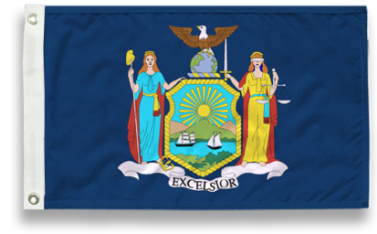 State-Tex Commercial Grade New York State Flags