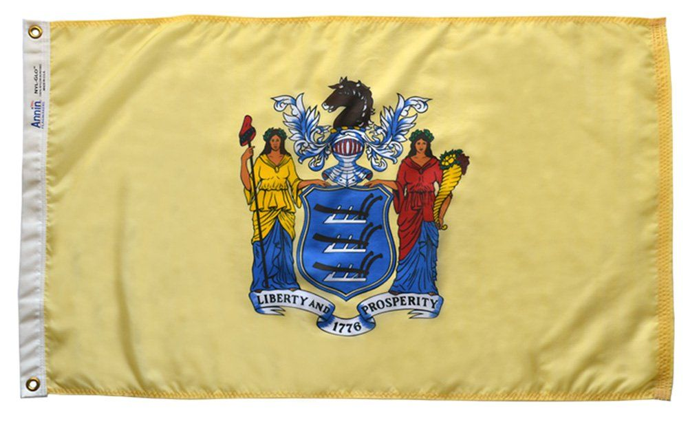 Premium Nylon Outdoor New Jersey State Flags