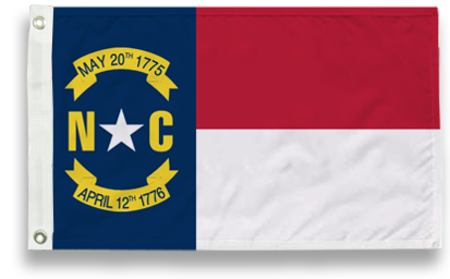 State-Tex Commercial Grade North Carolina State Flags