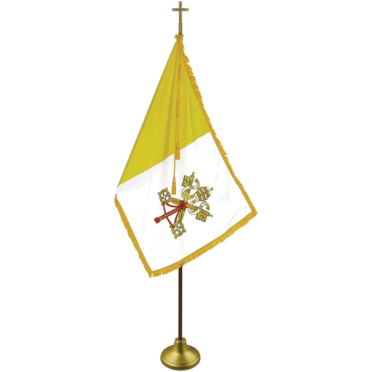 Indoor Papal Flag Sets