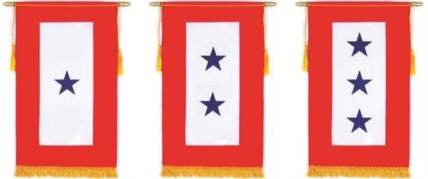 Service Star Banners and Flags
