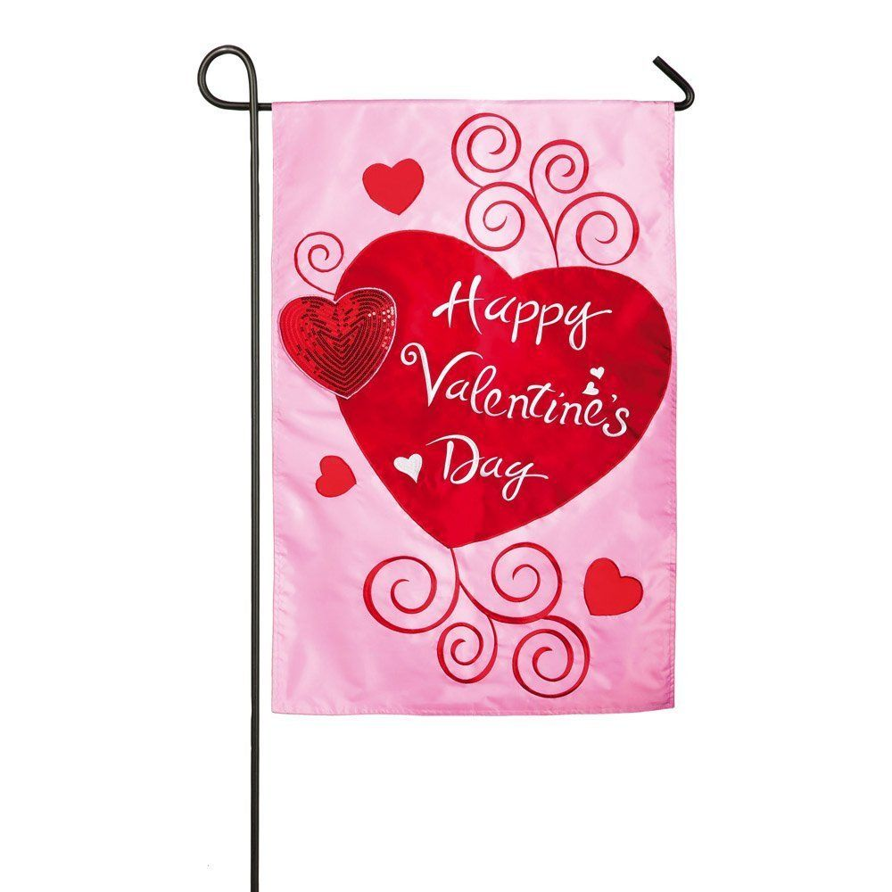 Valentines Day Flags & Banners