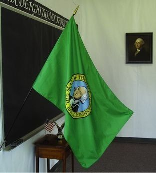 Washington State Classroom Flags