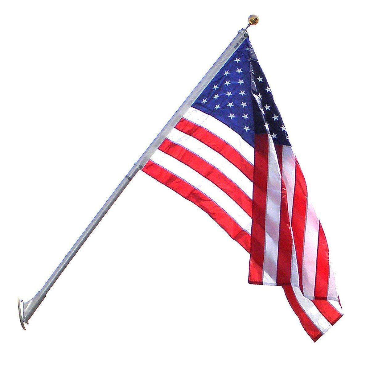American flags us made premium quality guaranteed to last heavy duty residential commercial us flag set publicscrutiny