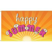 Happy Summer Flag