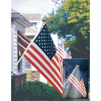 Ultimate Patriot's Lighted US Flag Set