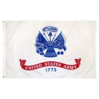 Nylon Army Flag - 3 ft X 5 ft