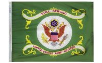 3' X 4' U.S. Army Retired Flag
