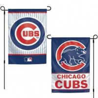 Chicago Cubs Two-Sided Garden Banner