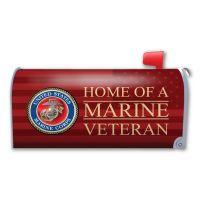 Home of a Marine Veteran Mailbox Cover Magnet
