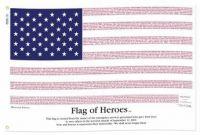 Flag of Heroes - 9/11 Memorial Flag
