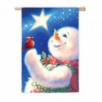 Frosty Magic House Flag