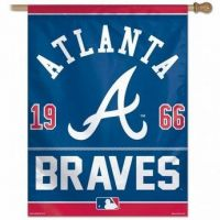 Full Color Atlanta Braves Banner