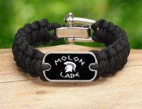 Molon Labe Survival Bracelet