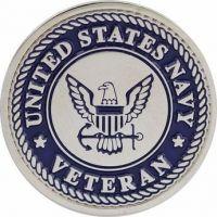 Navy Veteran Lapel Pin