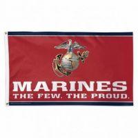 Premium US Marines Emblem Flag