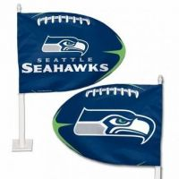 Seattle Seahawks - Car Flag