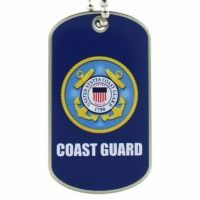U.S. Coast Guard Dog Tag