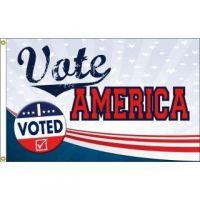 Vote America Flag