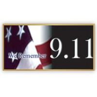We Remember 9/11 Pin