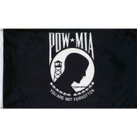 Economy Printed POW-MIA Flag