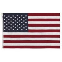 Perma-Nyl Colorfast American Flag - 3 ft X 5 ft