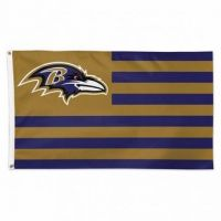 Baltimore Ravens Americana Flag