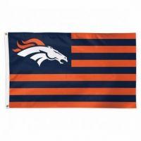 Denver Broncos Americana Flag
