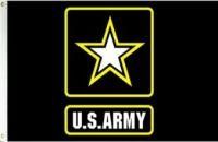 Military Grade Nylon Army Logo Flag