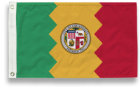 City of Los Angeles Flags