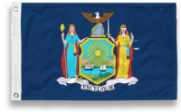 State-Tex Commercial Grade New York State Flag - 3 ft X 5 ft