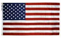 Tough-Tex Heavy Duty American Flag - With Grommets - 2 1/2 ft X 4 ft