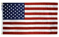 Tough-Tex Heavy Duty American Flag - With Grommets - 4 ft X 6 ft