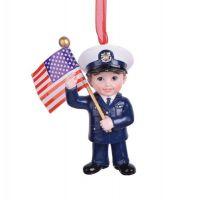 U.S. Coast Guard Kid Ornament