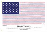 Flag of Honor - 9/11 Memorial Flag