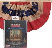 Heritage Cotton Full Pleated Fan Flag
