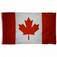 Outdoor Nylon Canada Flags - Several Sizes
