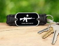 Come and Take It Key Fob