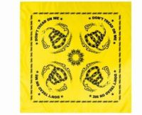 Don't Tread on Me Bandana - Yellow