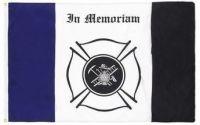 Firefighter Mourning Flag