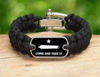 Gonzales Flag Survival Bracelet
