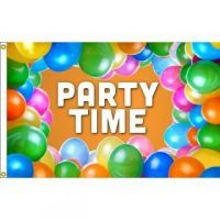 Party Time Flag
